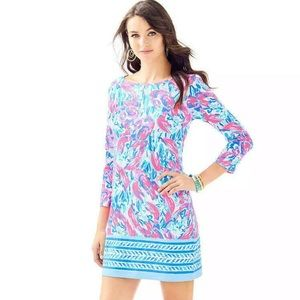 Lilly Pulitzer Marlowe dress in Cosmic Coral